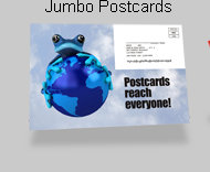 Jumbo Postcards - Versatile mailing solution